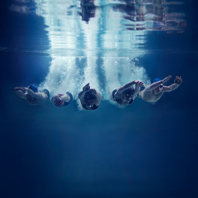 Triathlon - S'entraîner à nager en eau vive en piscine   Stimium