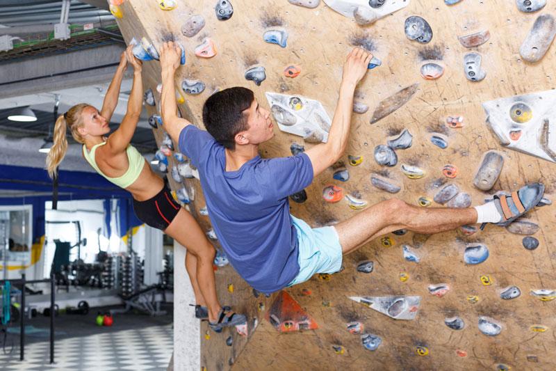Escalade - Reprendre le sport à la rentrée | Stimium Sport Nutri-Protection